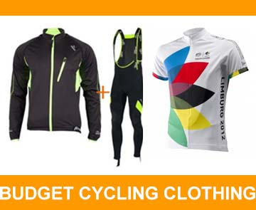budget cycling clothing