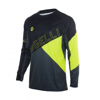 MTB shirt loose-fit lange mouw heren