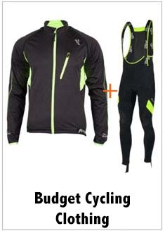 budget cycling clothes