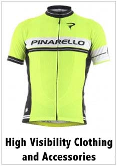 high visibility cycling clothing and accessoiries