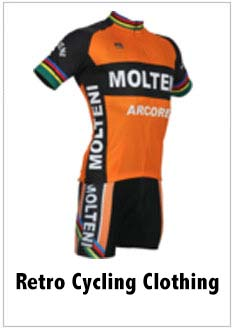 retro cycling clothing