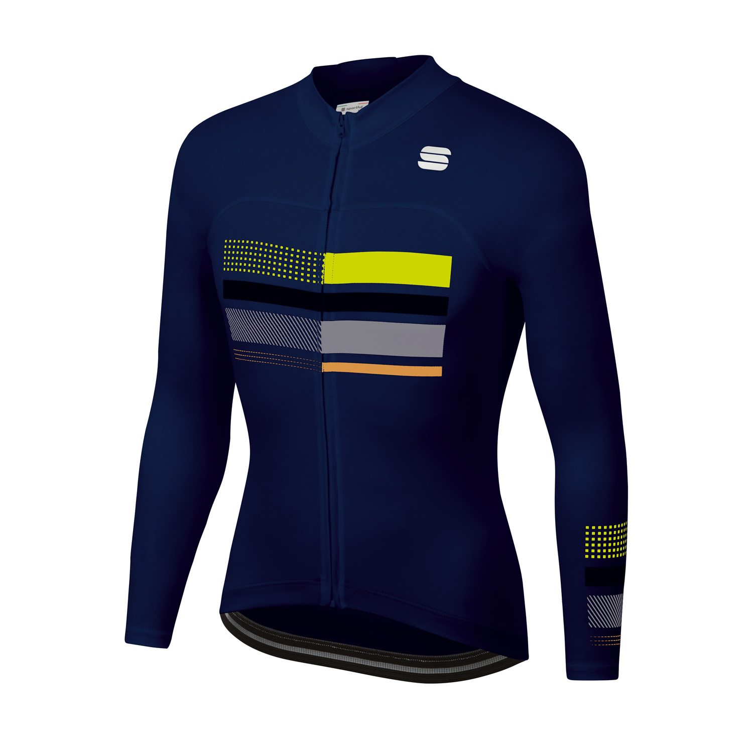| Sportful Fietsshirt lange mouwen Heren Blauw - WIRE THERMAL JERSEY BLUE