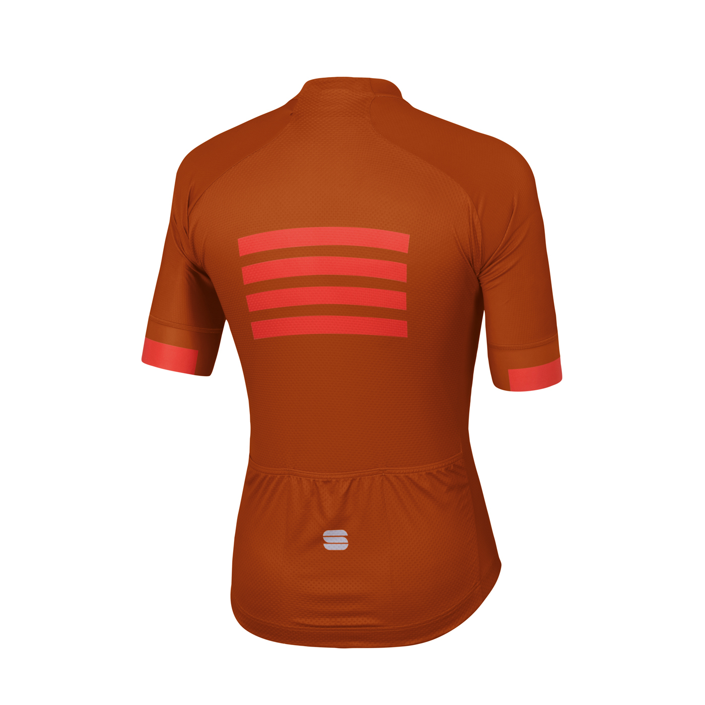 | Sportful Fietsshirt Korte mouwen voor Heren Oranje Rood - SF Wire Jersey-Sienna F Red Orange