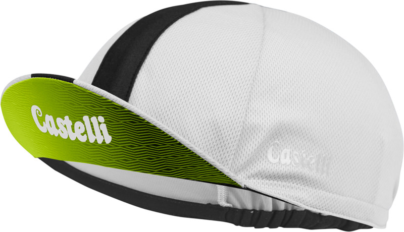 | Castelli Fietspetje Heren Wit - CA Performance 3 Cycling Cap White