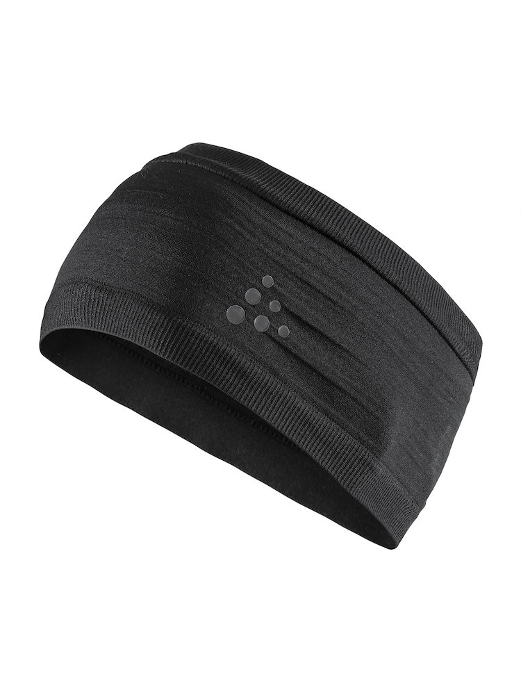 | Craft Haarband Unisex Zwart  / WARM COMFORT HEADBAND BLACK