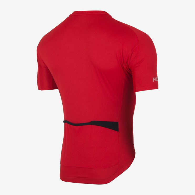 | Fusion Fietsshirt Unisex Rood / C3 CYCLE JERSEY RED
