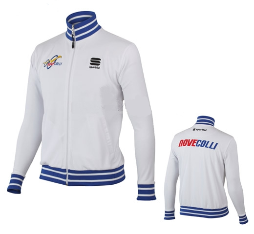 Sportful Nove Colli Wit Casual Track Jack