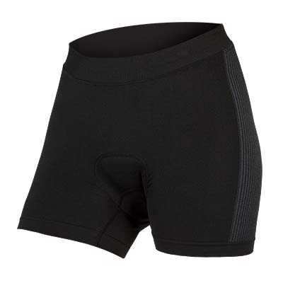 | Endura Fietsonderbroek Dames Zwart / Dames Engineered Padded Boxer - Zwart