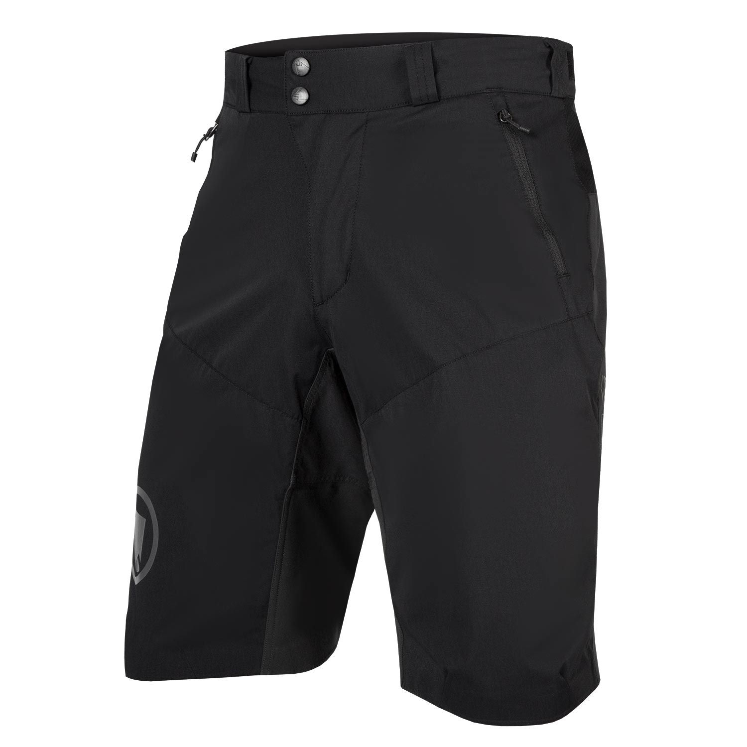 | Endura MTB fietsbroek kort waterafstotend Heren Zwart - MT500 Spray Short Zwart