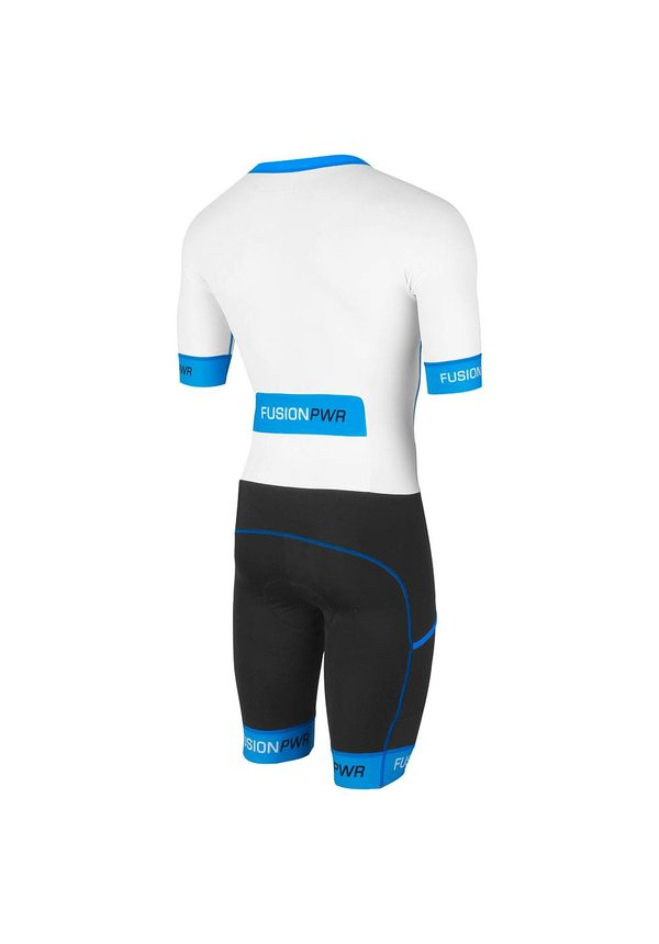 | Fusion Triathlon snelpak Unisex Wit / SPEED SUIT SUBLI BAND WHITE/SURF