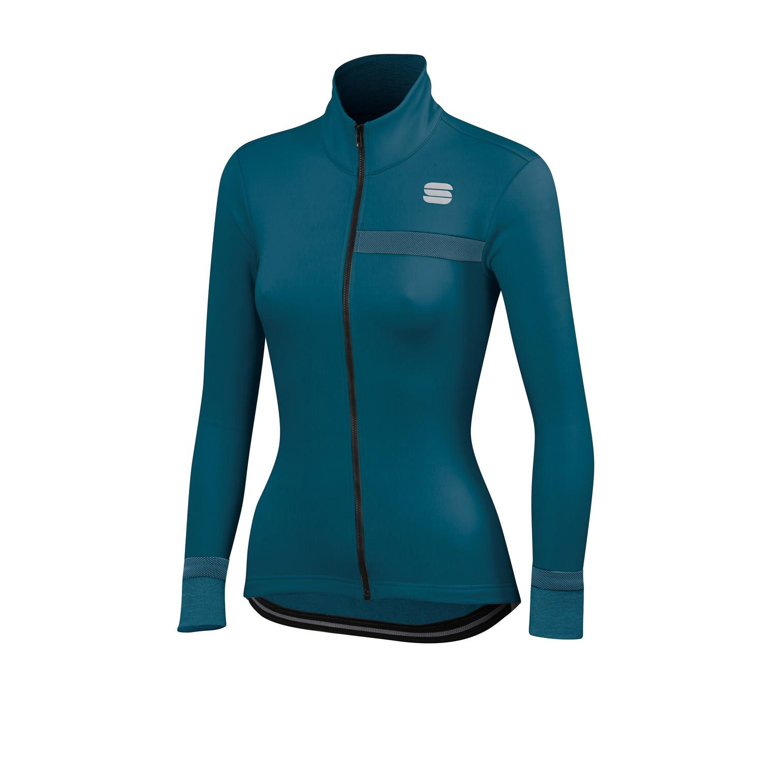 Sportful Fietsjack Dames Blauw - GIARA W SOFTSHELL JACKET BLUE CORSAIR