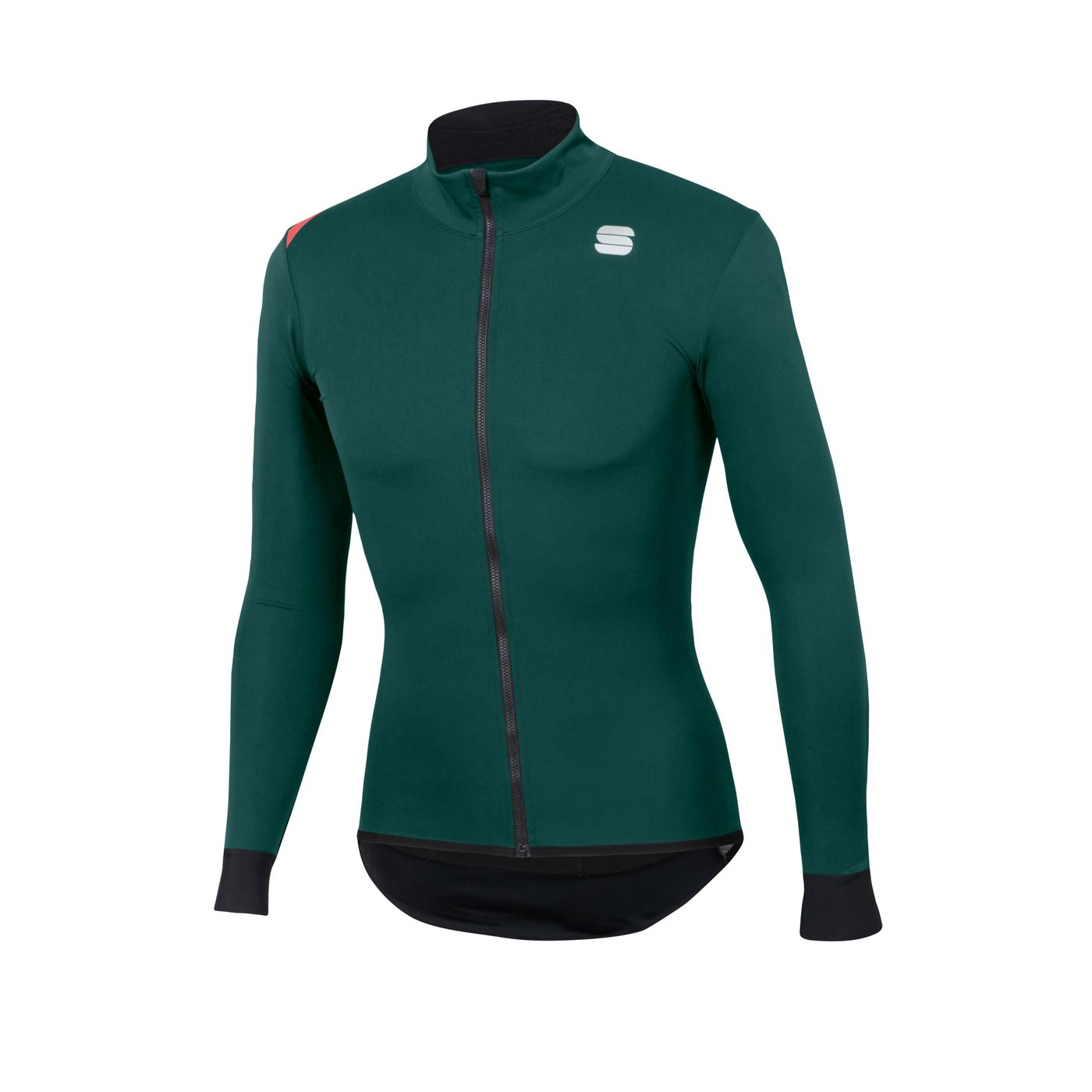 Sportful Fietsjack Lange mouwen Zeer sterk waterafstotend voor Heren Groen - SF Fiandre Light No Rain Jacket-Sea Moss