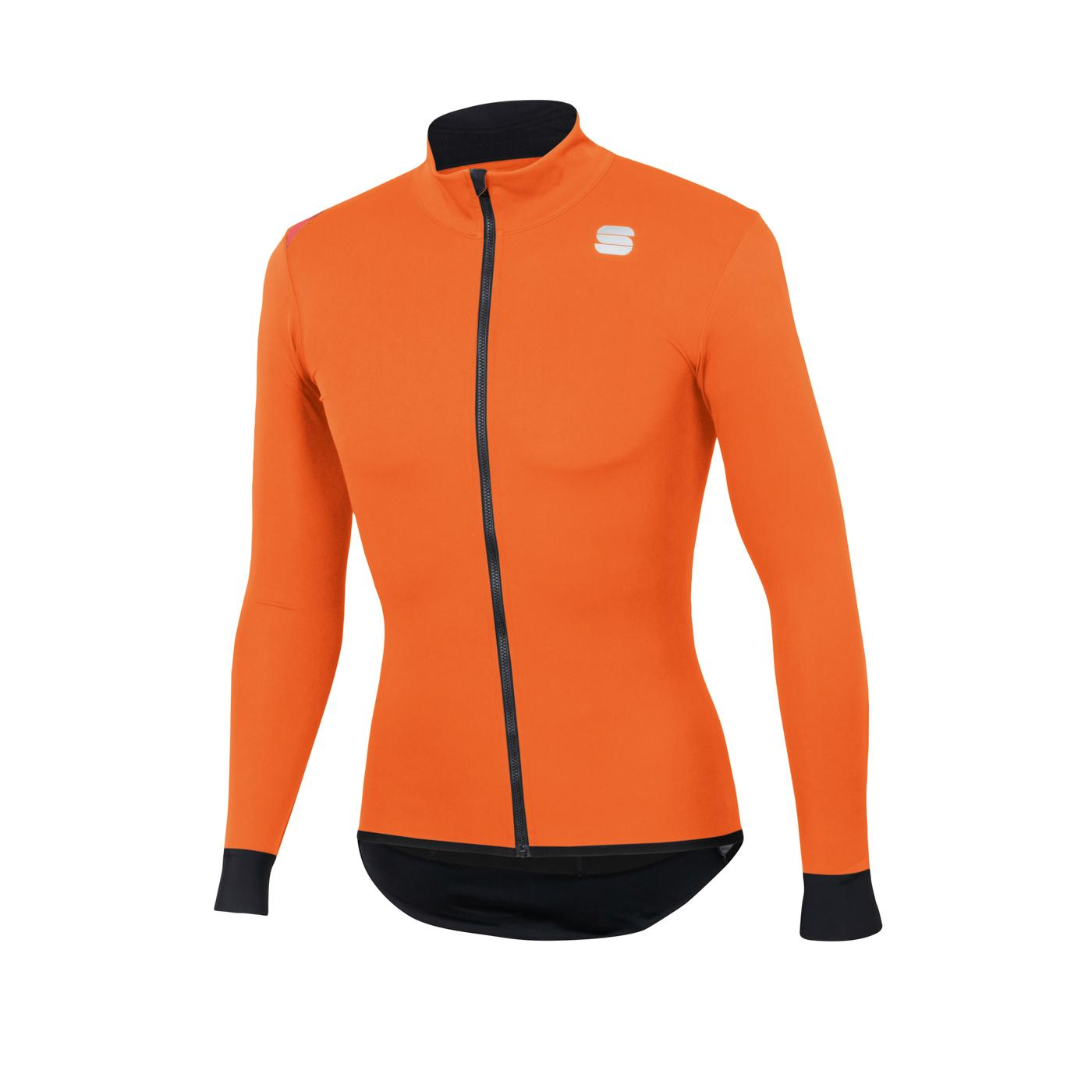 Sportful Fietsjack Lange mouwen Zeer sterk waterafstotend voor Heren Oranje - SF Fiandre Light No Rain Jacket-Orange Sdr