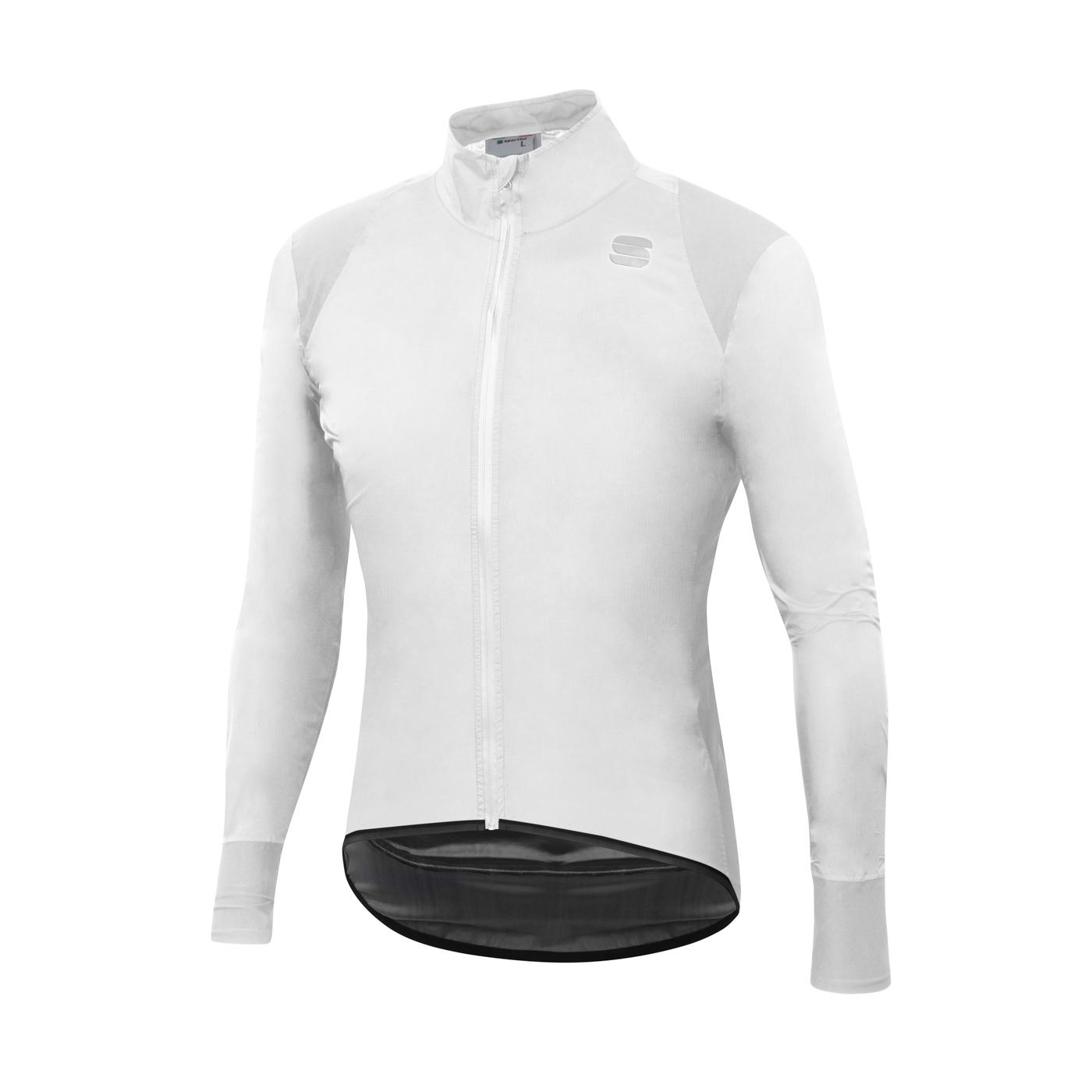 Sportful Fietsjack Lange mouwen Zeer sterk waterafstotend voor Heren Wit - SF Hot Pack No Rain Jacket-White