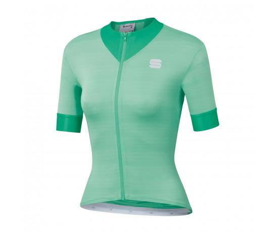 Sportful Fietsshirt Korte mouwen voor Dames Groen - SF Kelly W Short Sleeve Jersey-Acqua Green