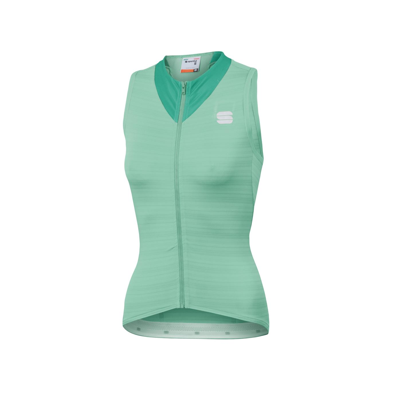 Sportful Fietsshirt Mouwloos voor Dames Groen - SF Kelly W Sleeveless Jersey-Acqua Green
