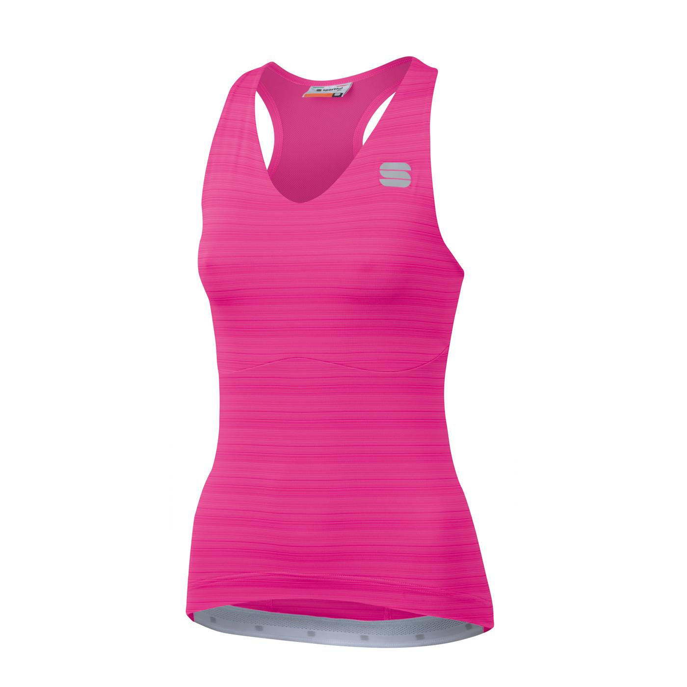Sportful Fietsshirt Mouwloos voor Dames Roze - SF Kelly W Top-Bubble Gum