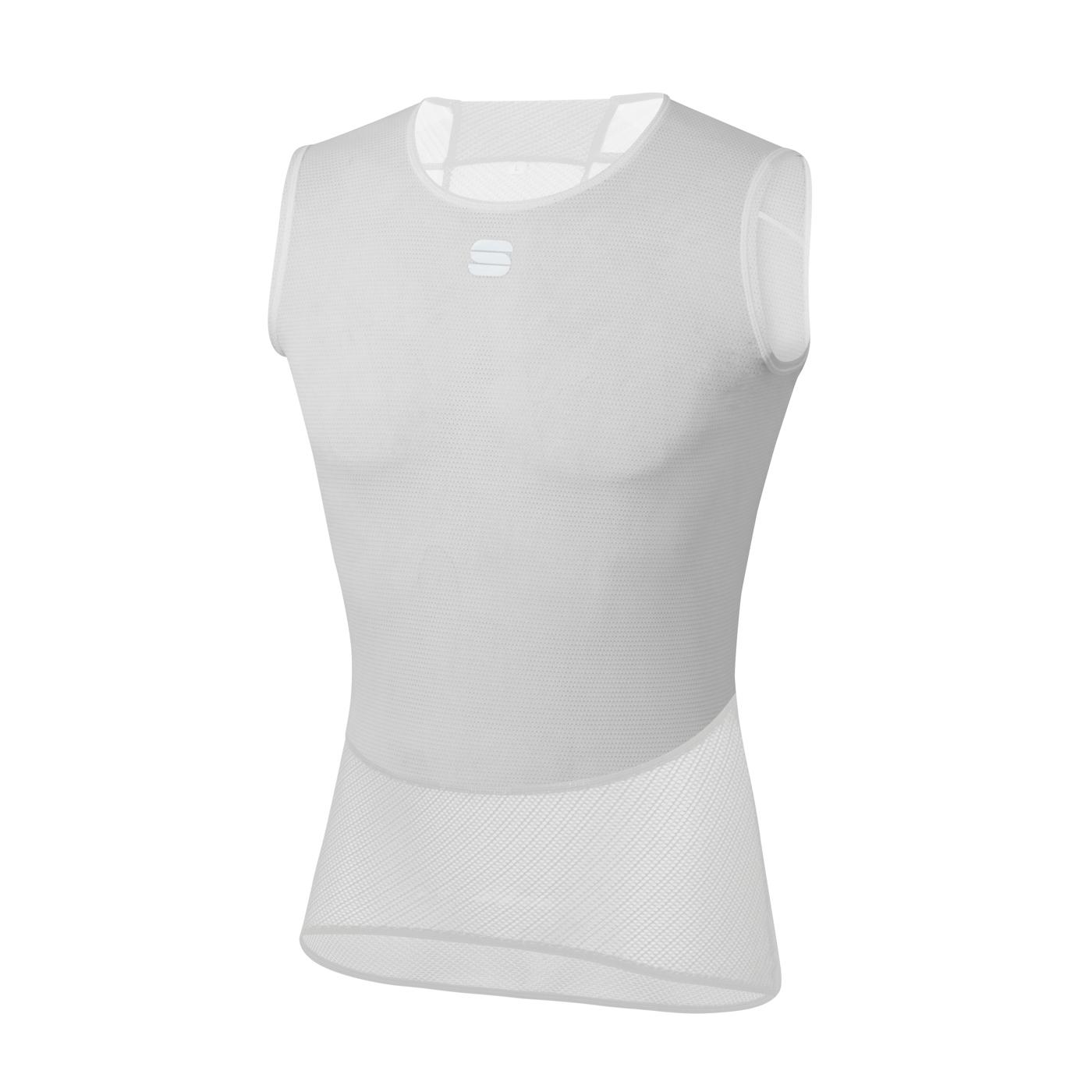 Sportful Ondershirt Mouwloos voor Heren Wit - SF Pro Baselayer Sleeveless.-White