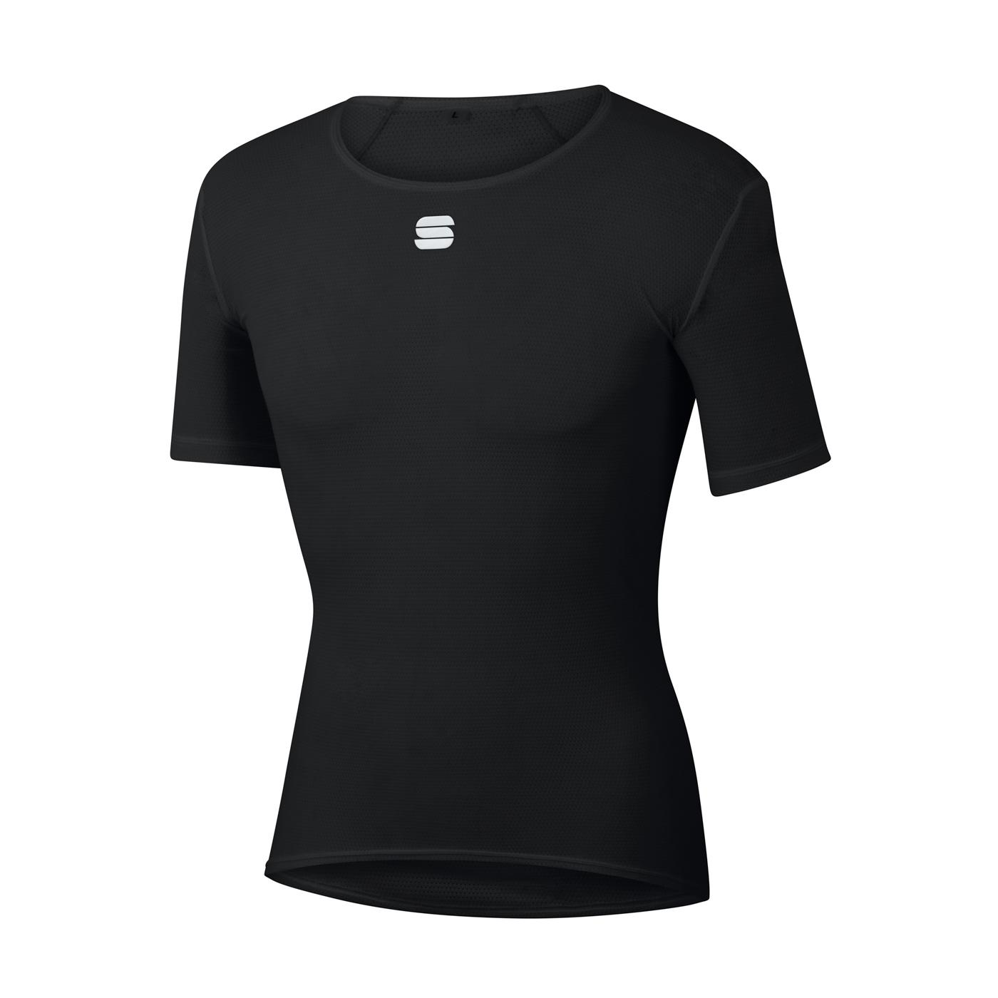 Sportful Ondershirt Korte mouwen voor Heren Zwart - SF Thermodynamic Lite T-Shirt-Black