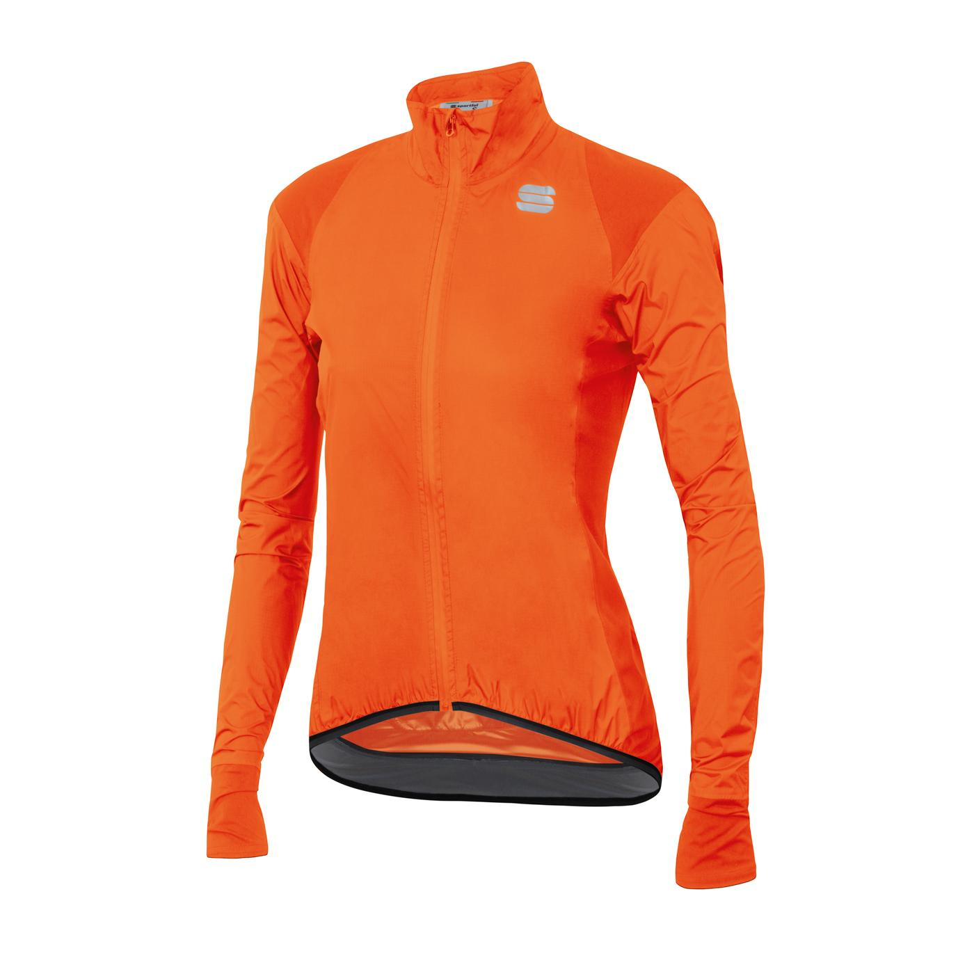 Sportful Fietsjack Lange mouwen Zeer sterk waterafstotend voor Dames Oranje - SF Hot Pack No Rain W Jacket-Orange Sdr