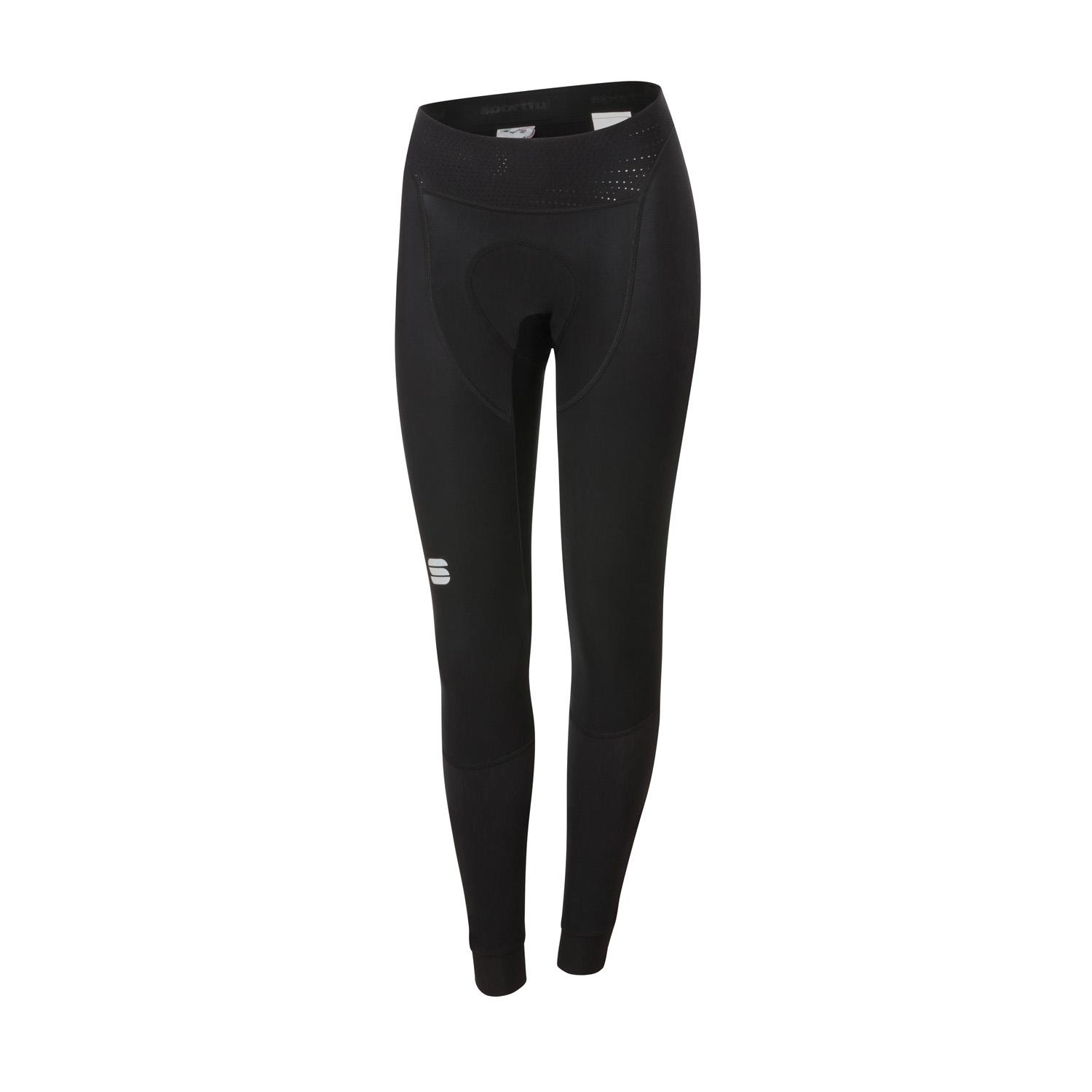 Sportful Fietsbroek lang zonder bretels Dames Zwart - TOTAL COMFORT WOMAN TIGHT BLACK