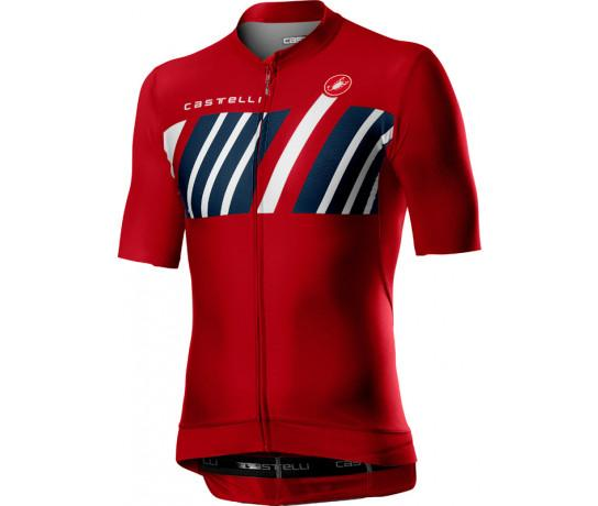 Castelli Fietsshirt Heren Rood - CA Hors Categorie Jersey Red