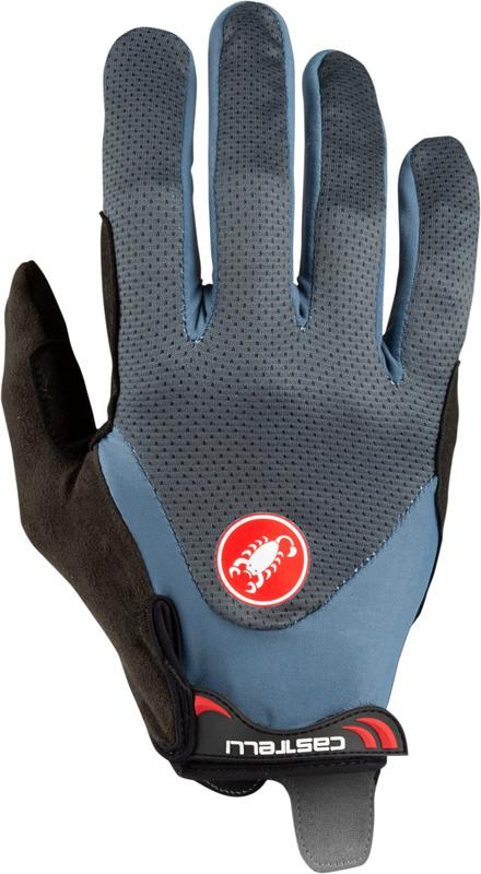 Castelli Fietshandschoenen Heren Blauw - CA Arenberg Gel Lf Glove Dark/Light Steel Blue