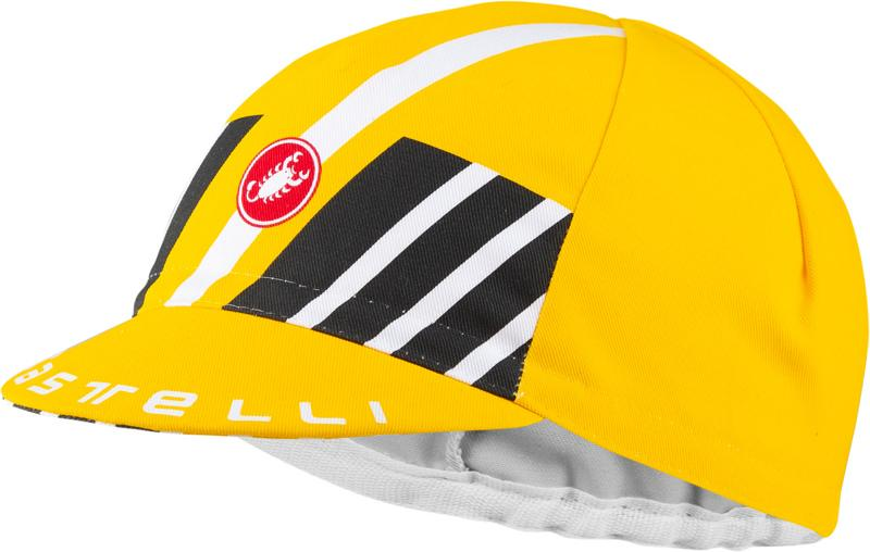 | Castelli Fietspetje Heren Geel - CA Hors Categorie Cap Yellow