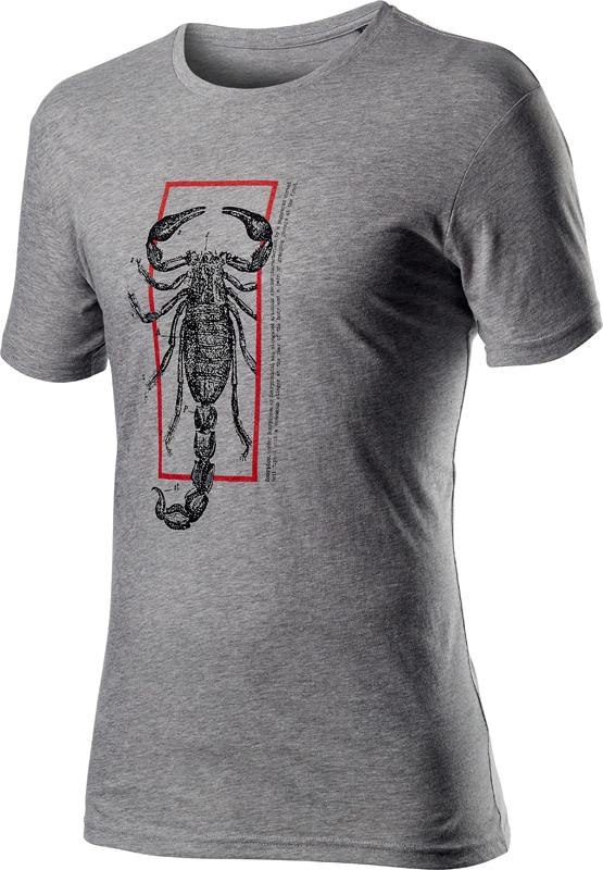 Castelli Casual T-Shirt Heren Grijs - CA Logo Tee Melange Light Gray