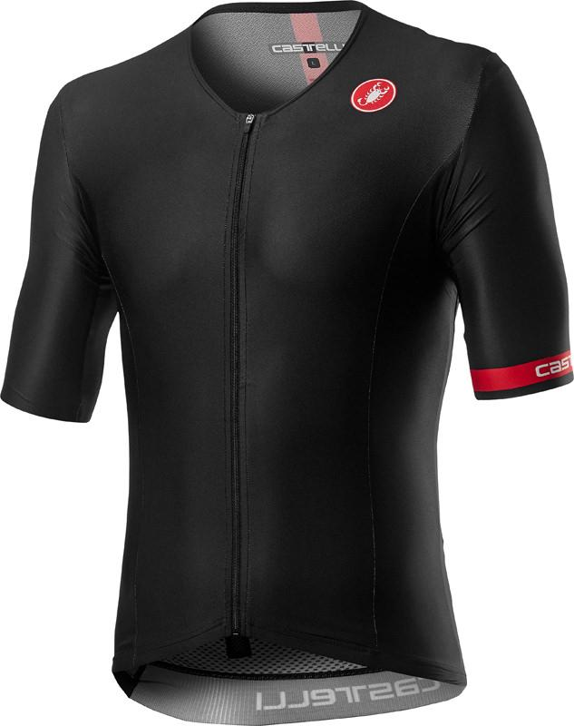 Afbeelding Castelli Fietsshirt Triatlon Heren Zwart - CA Free Speed 2 Race Top Black