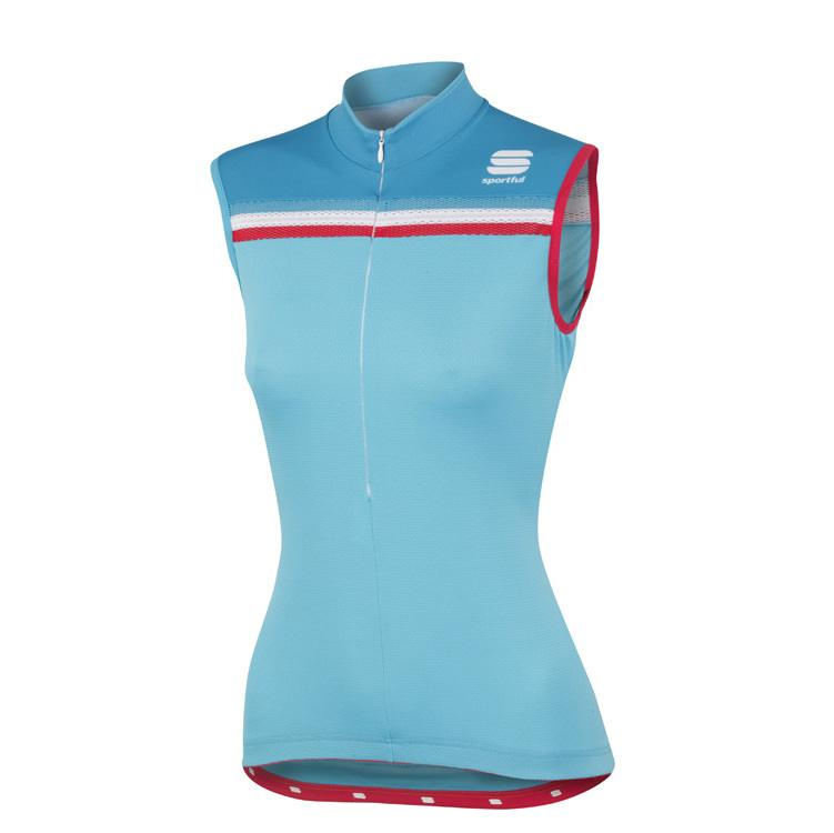 Afbeelding Sportful Allure W Sleeveless / Fietsshirt Dames Mouwloos Turquoise