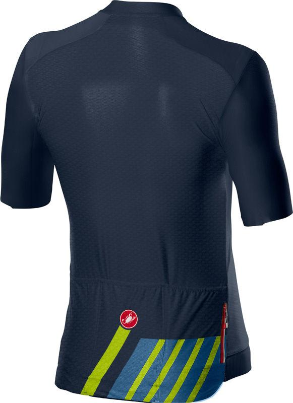 | Castelli Fietsshirt Heren Blauw - CA Hors Categorie Jersey Dark Steel Blue