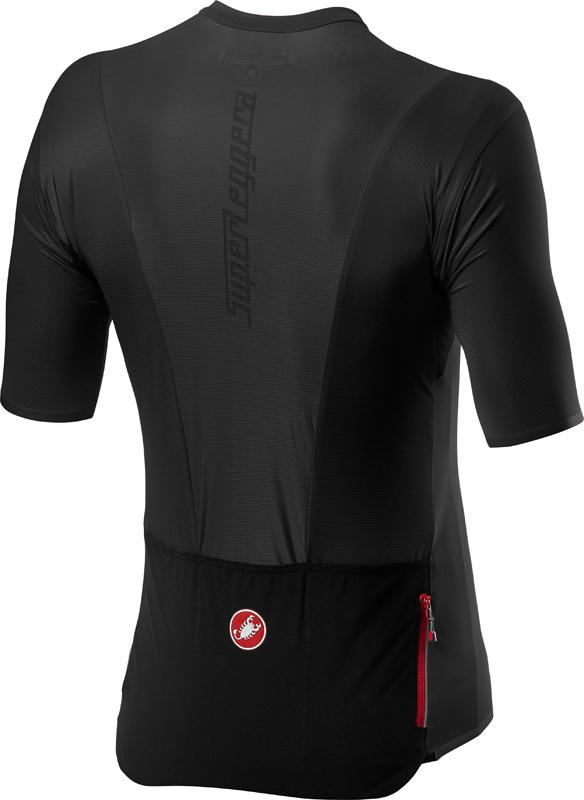 Castelli Fietsshirt Heren Zwart - CA Superleggera 2 Jersey Light Black