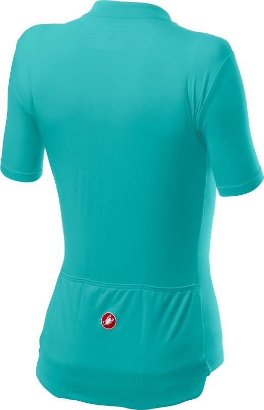 Castelli Fietsshirt Dames Turquoise Roze - CA Anima 3 Jersey L Turquoise Br Pink