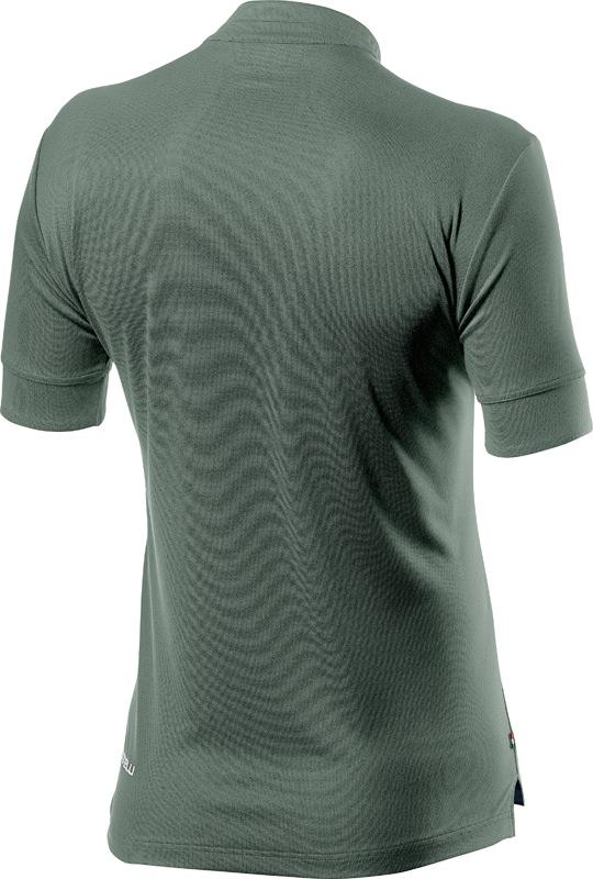 Castelli Casual Polo Heren Groen - CA Tech Polo Sauge Green