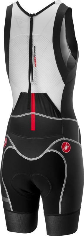Castelli Triathlon shirt Dames Multikleur Zwart - CA Free W Tri Itu Suit Multicolor Black