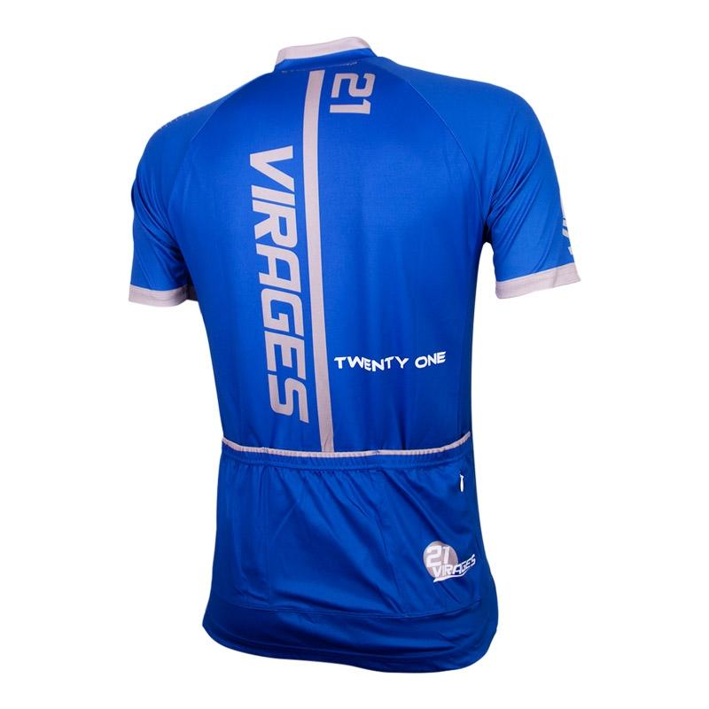Afbeelding Wielershirt 21Virages Cycling Corp blauw