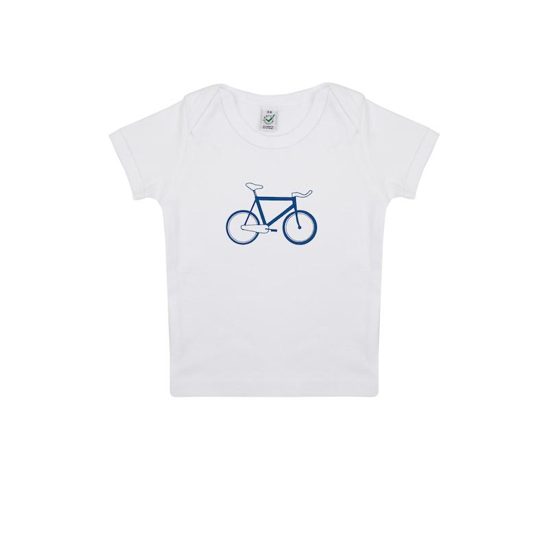 Afbeelding SillyScreens Baby T-shirt baby  Wit  / BABYRACER, wieler T-shirt, White