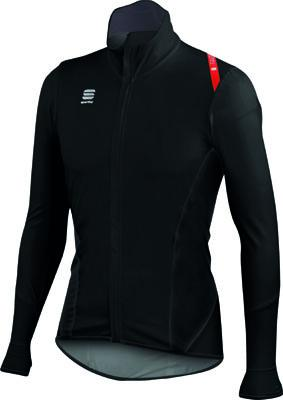 Afbeelding Sportful Fiandre Light NoRain Top / Wind/regen Fietsjack Black/Red