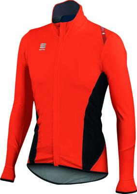 Afbeelding Sportful Fiandre Light NoRain Top / Wind/regen Fietsjack Red Fire/Black