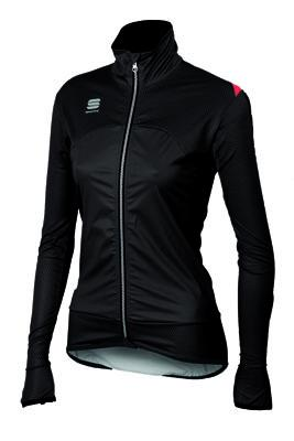 Afbeelding Sportful Fiandre Light WS W Jacket / Fietsjack Dames Black/Fuchsia