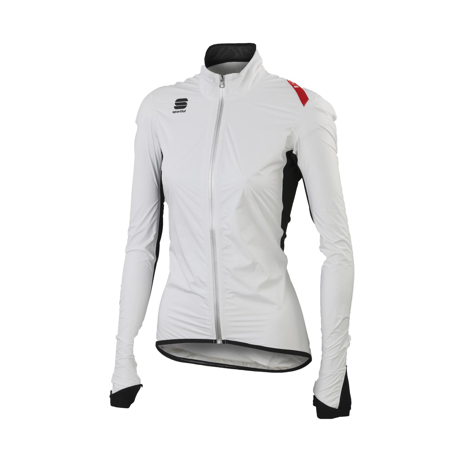Sportful Fietsjack Dames Wit Zwart / SF Hot Pack No-Rain W Jacket-White/Black