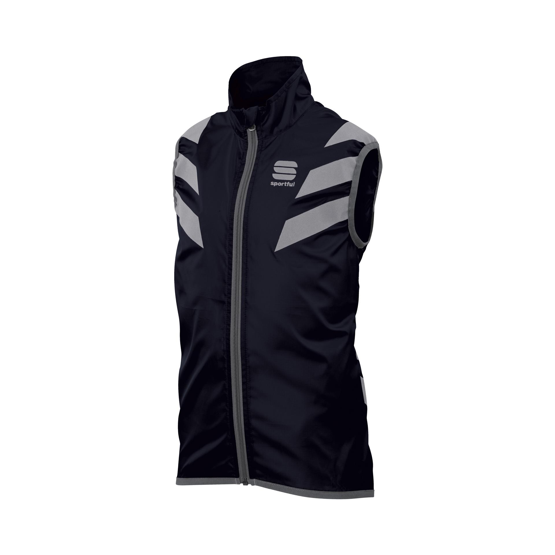 Sportful Windstopper Kids Zwart / SF Kid Reflex Vest-Black