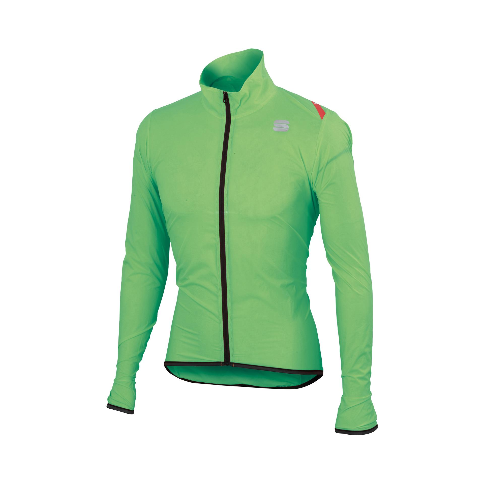 Afbeelding Sportful regenjack Heren Fluo / SF Hot Pack 6 Jacket-Green Fluo