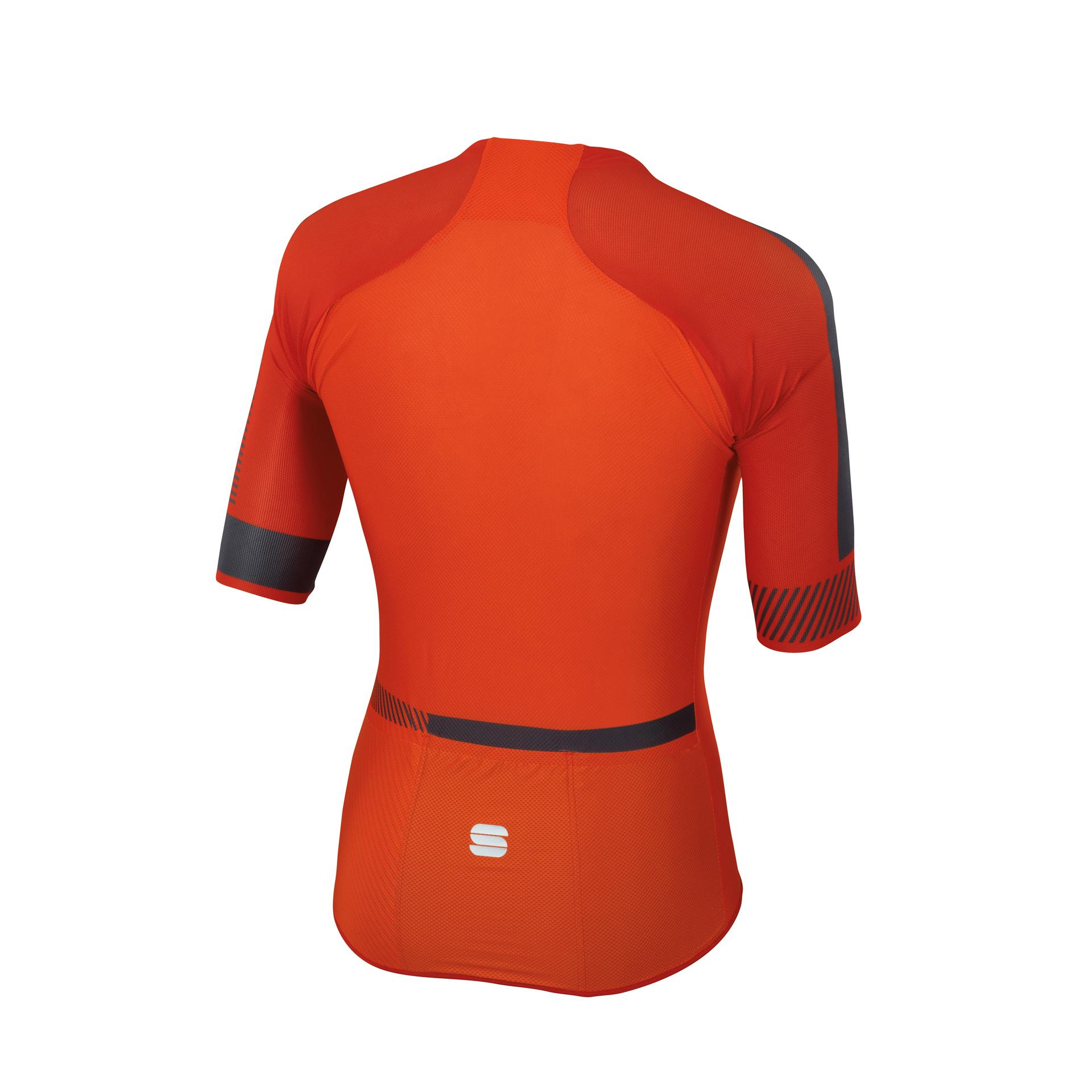 Sportful Fietsshirt korte mouwen Heren Oranje Rood / SF Bodyfit Pro 2.0 Light Jersey-Orange Sdr/Fire Red