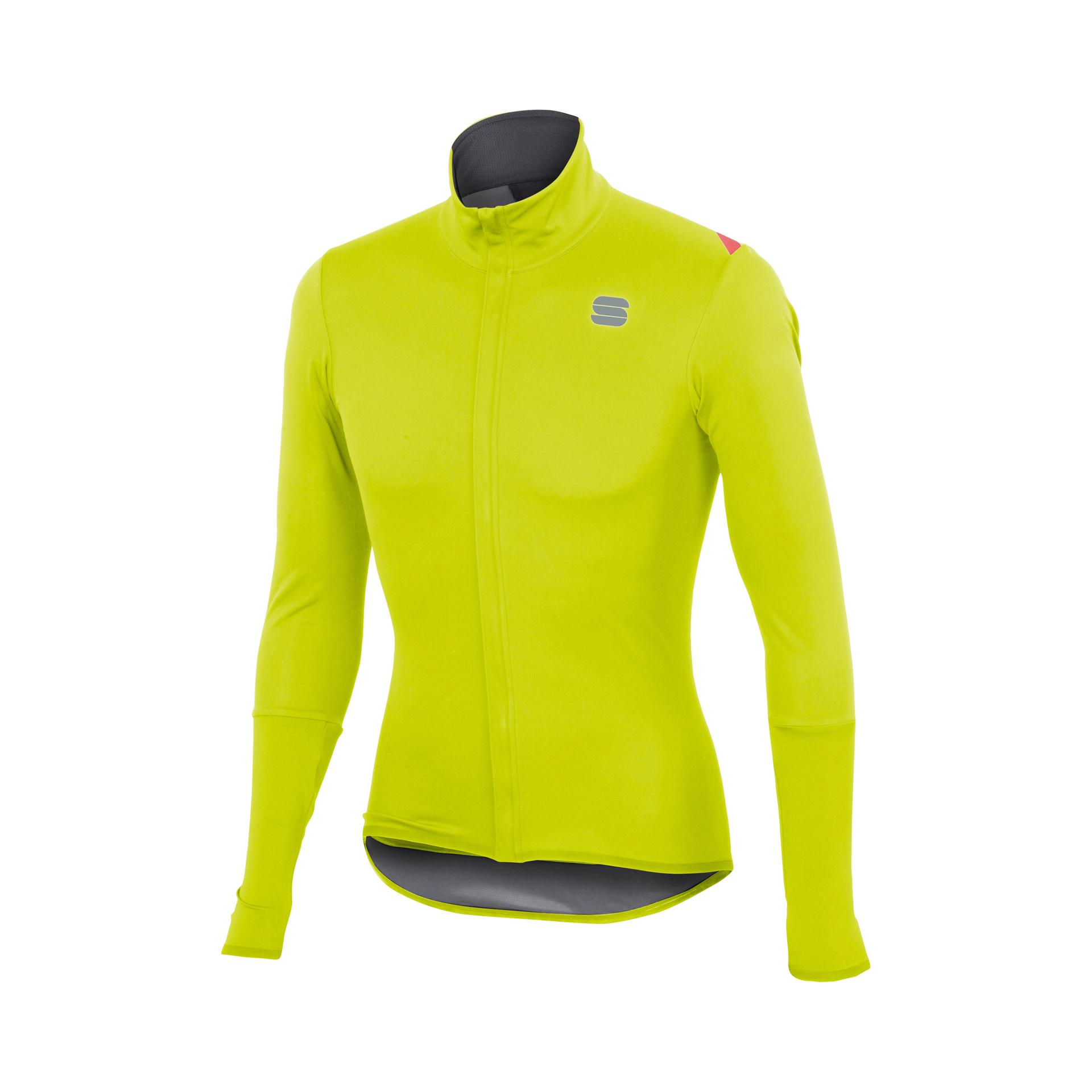Sportful Regenjack Heren fluo / SF Fiandre Light Norain Top-Yellow Fluo