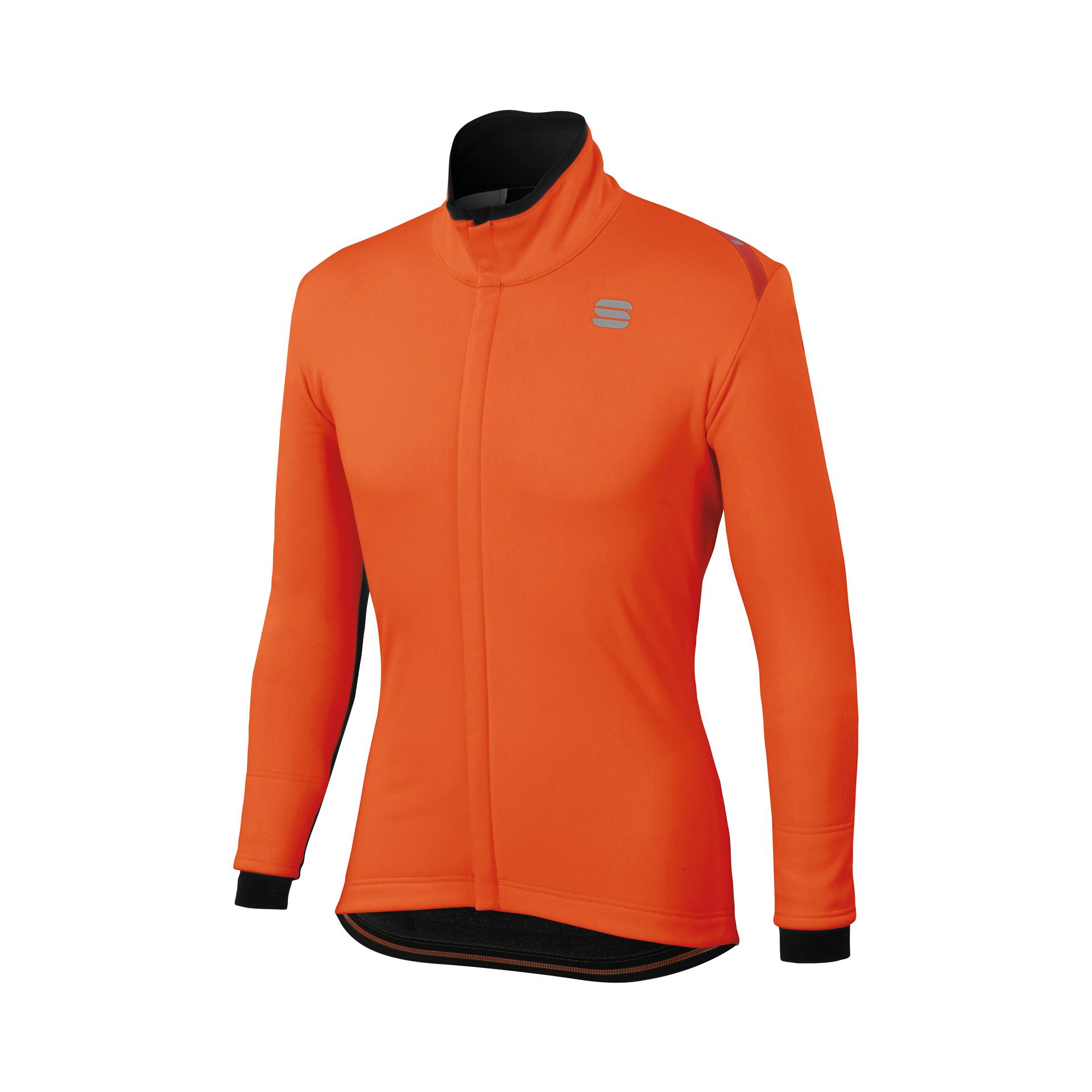 Sportful Fietsjack waterafstotend Heren Oranje / Fiandre Thermo Cabrio Jacket-Orange Sdr