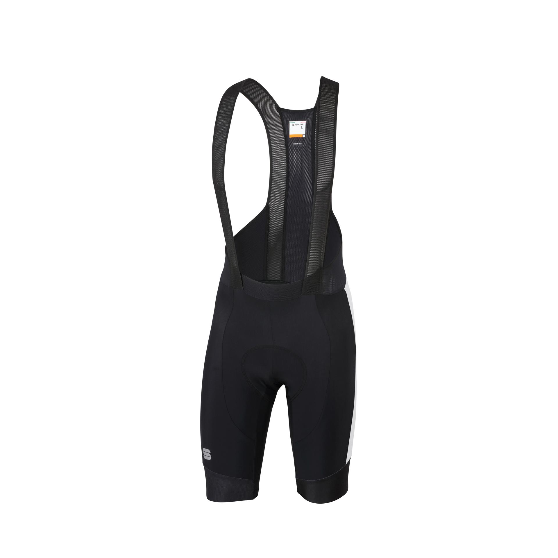 Sportful Fietsbroek met bretels - koersbroek Heren Zwart Wit / SF Gts  Bibshort-Black/White