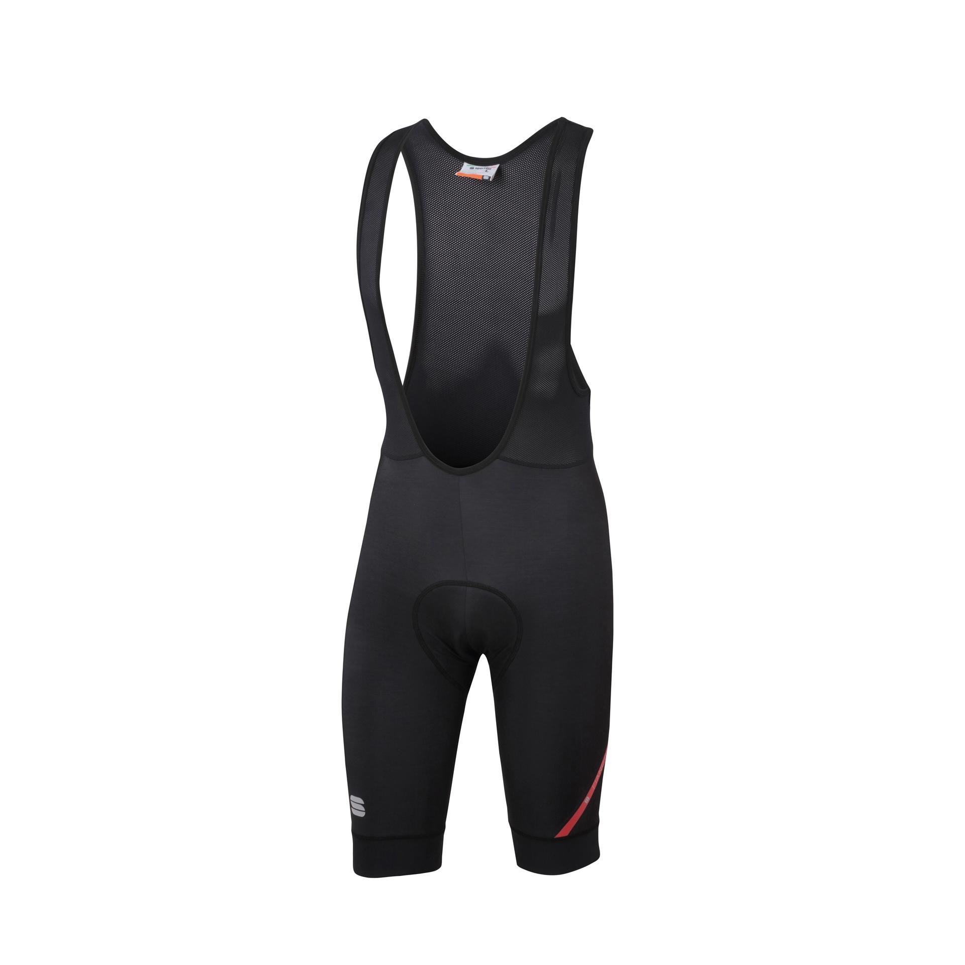 Sportful Fietsbroek met bretels - koersbroek Heren Zwart  / SF Fiandre Norain 2 Bibshort-Black