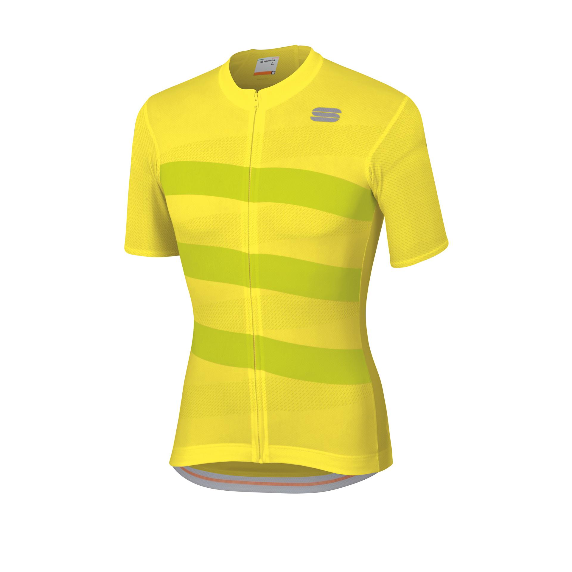 Sportful Fietsshirt korte mouwen Heren Geel  / SF Team 2.0 Ribbon Jersey-Tweety Yel/Yellow
